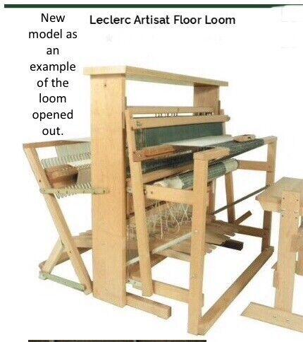 LeClerc Artisat 33400 four shaft Folding Floor Loom | in Winnersh,  Berkshire | Gumtree
