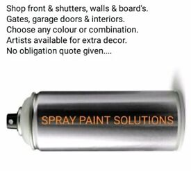 Spray paint solutions
