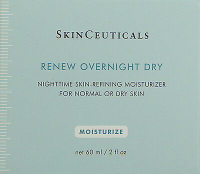 Skinceuticals Renew Overnight Dry 60ml(2oz) Normal Dry Skin  BRAND NEW