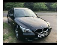 BMW 520d SE, Black leather, 6 Speed Manual, Low miles, Excellent condition.