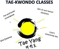 3 spots left**** ages 3-6 - Taekwondo classes