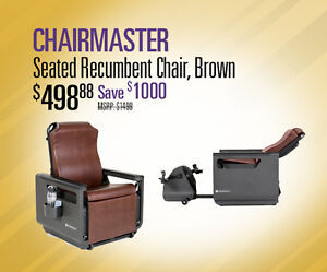 CHAIRMASTER ON SALE AND IN STOCK AT FITNESS DEPOT