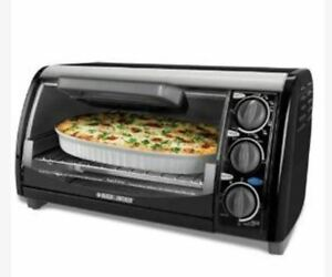 Black and Decker toaster oven - like new.