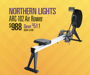 Northern Lights ARC-102 Air Rower On Sale 5 Year Warranty