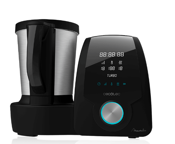 Robot cocina Cecotec Mambo. Multifunción 23 func. 3,3l. Pantalla digital táctil