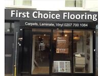FIRST CHOICE FLOORING (SHOP) - CARPET, VINYL, WOOD & LAMINATE FLOORING