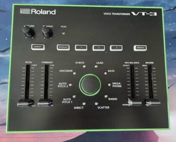 Roland VT 3 Vocal Transformer