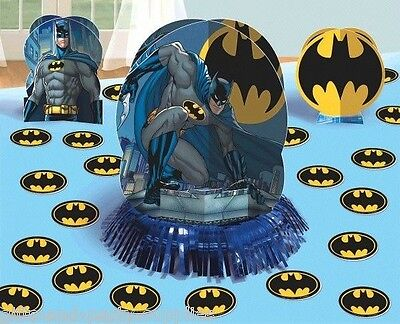 Batman Table Decorating Kit Superhero Birthday Decorations Party Supplies BatMan (Batman Table)