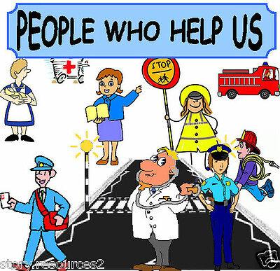 PEOPLE WHO HELP US Teaching resources KS1 EYFS Teacher Resource ...