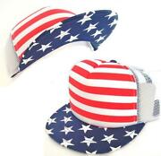 American Flag Snapback