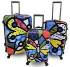 Romero Britto Luggage