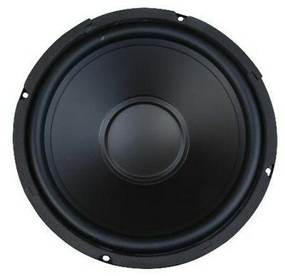 "10"" Woofer Poly Cone Rubber Surround 100W RMS 8ohm Replacement Home Car Audio"