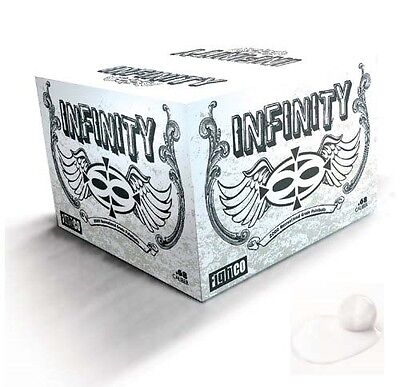 Valken Infinity Paintballs Case of 2000 Count Rounds - White Fill and (2000 Count Paintballs)