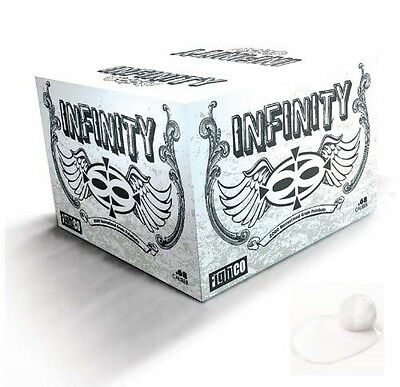 Valken Infinity Paintballs Case of 2000 Count Rounds - White Fill and Shell