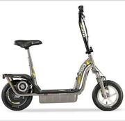 Green Electric Scooter