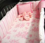 Pink Toile Bedding