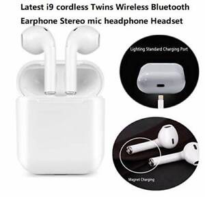 Genuine Latest i9 cordless Twins Wireless Bluetooth Earphone Ste Doveton Casey Area Preview