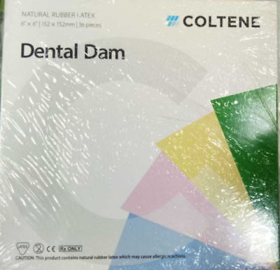 Coltene Whaledent Dental Dam Sheets Size 5x5