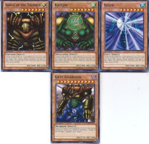 Yugioh Gate Guardian: Individual Cards