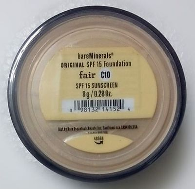 Bare Escentuals: Bare Minerals Original Foundation  FAIR (C10) XL 8g Free Ship comprar usado  Enviando para Brazil