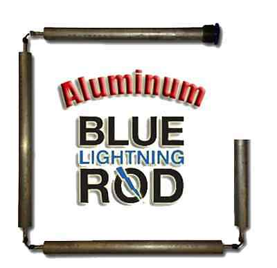 Blue Lightning Aluminum / Zinc Flexible Anode Rods, Hex Plug, 42