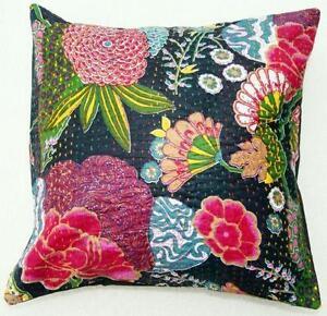 Floral cushion covers cushions ebay black floral cushion covers mightylinksfo