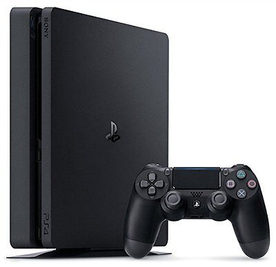 Sony PlayStation 4 Slim 500GB Console - Jet Black PS4 NEW 2016