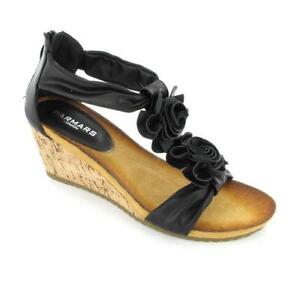 b8a8ad2165d6 Black Low Wedge Shoes