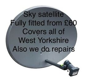 Sky satellite installation- *from £60*