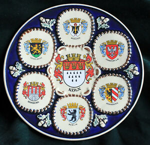 GERMAN CITIES COLLECTOR PLATE