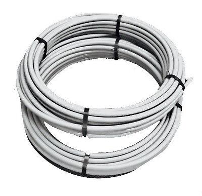 Druckluft Rohrleitung DRPAG 15x1,5 mm, Rolle 25 m Kunststoffrohr PA grau