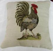 Rooster Chair Cushions