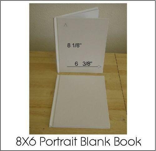 Hard Cover Book And Paper Back ~ Blank hardcover book ebay
