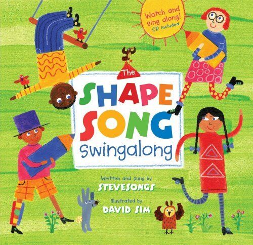 The Shape Song Swingalong (Book & Enhanced CD) (A Barefoot Singalong) New Paperb