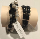White House Black Market White Fashion Bracelets