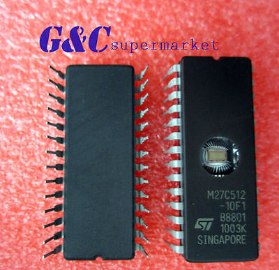 20 Stücke CDIP-28 St M27C512-10F1 27C512 Neue Ic gp