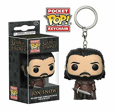 Funko Pop Keychain: GOT - Jon Snow Toy Figure