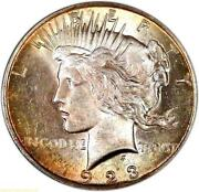 Toned Peace Dollar
