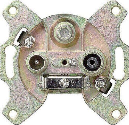 GIRA Antennen-Steckdose EDA3902 mit 3 Anschlüssen 093700