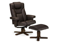 MALMO - FAUX LEATHER - LUXURY EXECUTIVE RECLINING CHAIR