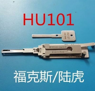 100% LISHI 2-in-1 Auto Tool HU101 for Ford FOCUS, Land Rover, Volvo,JAGUAR,MAZDA