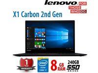 Lenovo ThinkPad X1 Carbon (intel i7 - Its like Macbook Air)