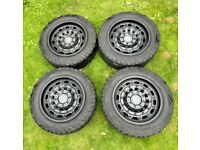 "20"" Black Rhino Arsenal (Textured Matte Black) Alloys including Tyres x4"