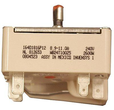 GE WB24T10025 Electric Range Infinite Switch, 8 Inch , New, Free Shipping