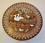 Indian Inlaid Table