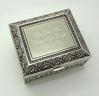 - Personalized jewelry box with Free Custom Engraving