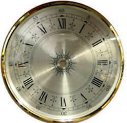 Bezel Glass Clock Dial Size  8 Inch Diameter  Hinged Convex Glass Door Dial