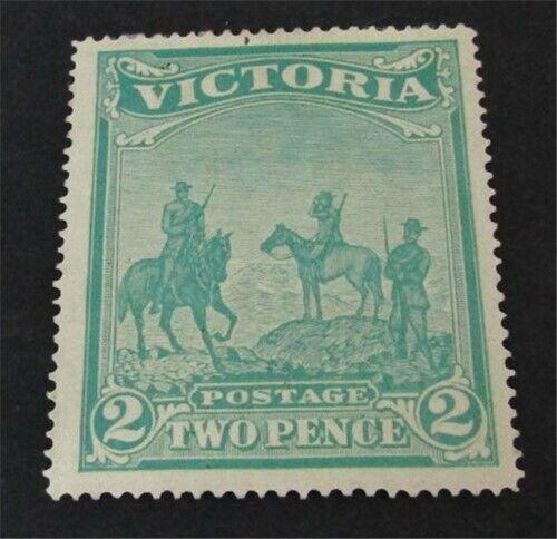 Nystamps British Australian States Victoria Stamp B4 Mint OG H 225 N20y1776 - $46.99