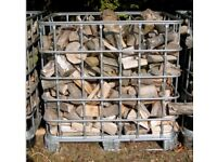 £85 FREE IPSWICH DELIVERY - 1.2 CUBIC METRE'S OF SPLIT SEASONED HARDWOOD LOGS FIREWOOD