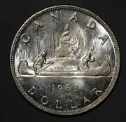 1963 Canadian Silver Dollar
